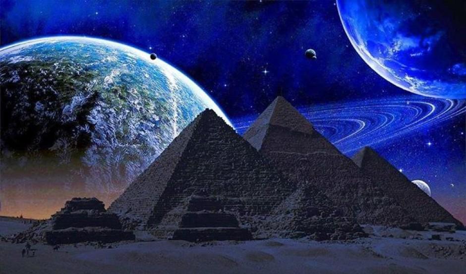 пирамиды и космос картинки стоимость кухни